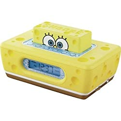 Spongebob? Clock Radio with pop-up Snooze (Discontinued by Manufacturer)