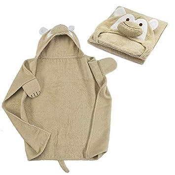 all Kids united Baby Toalla con Capucha Capucha Toalla de Rizo de algodón 100% - Baby de Toalla con Capucha - Öko-Tex 100: Amazon.es: Hogar