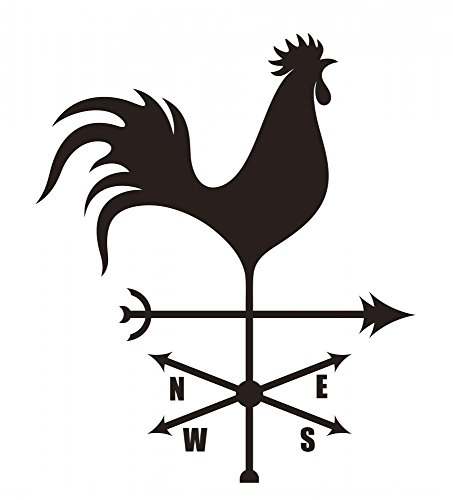 [Wallmonkeys WM367674 Weather Vane Peel and Stick Wall Decals (24 in H x 22 in W)] (Animal Weathervanes)