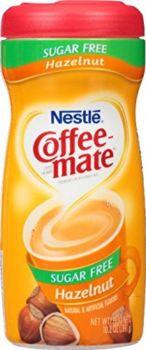 Nestle Coffeemate Sugar Free Hazelnut Coffee Creamer 10.2 oz (Pack pf 3)