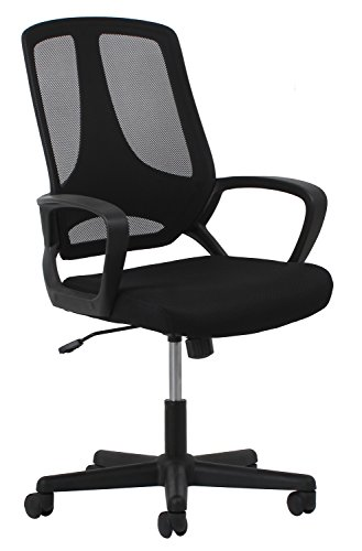 OFM Essentials Swivel Mesh Task Chair with Arms - Ergonomic Computer/Office Chair (ESS-3040) by OFM