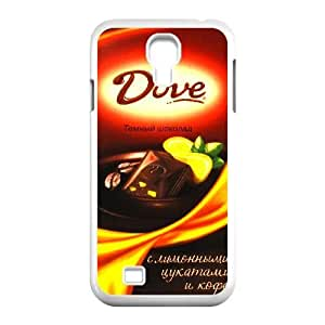 Protection Cover Oxsco Samsung Galaxy S4 I9500 Cell Phone Case White Dove Chocolate Personalized Durable Cases