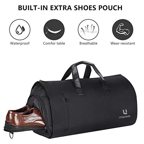 Carry-on Garment Bag Large Duffel Bag Suit Travel Bag Weekend Bag Flight Bag  for 1ee66301eb