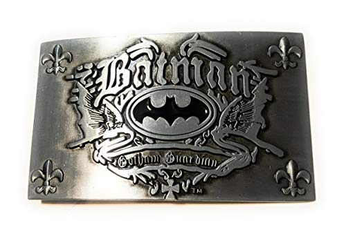 BATMAN GOTHAM GUARDIAN belt buckle Dark Knight DC comics 4 inch SuperGifts