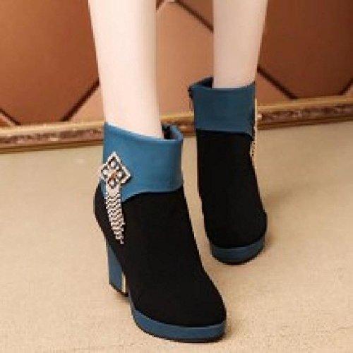 Invierno For Black Luck You De Botas Good Para Blue Y Agecc 38 36 Mujer Zapatos PqSYwFB
