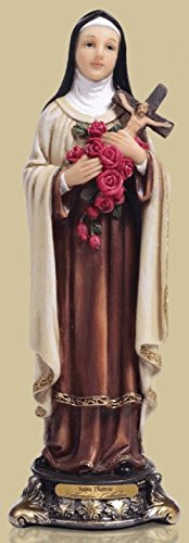 St Therese 8 inch Statue -