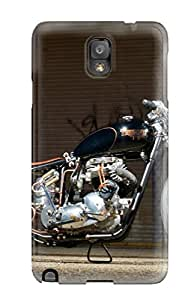 Galaxy High Quality Tpu Case/ Motorcycle ItVyskc4421zUvha Case Cover For Galaxy Note 3