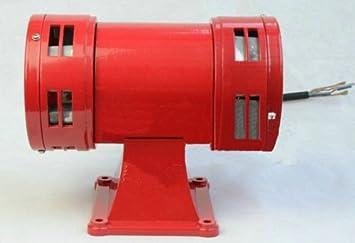 AC110V 125db Alarma de aire bidireccional sirena bocina ...