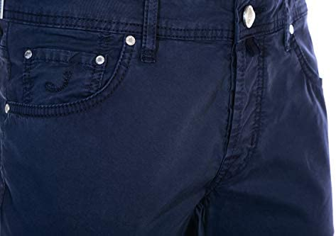 Jacob Cohen Small Bobby Comf Chino in Navy