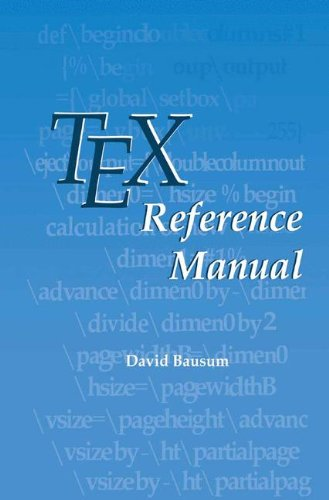 TeX Reference Manual by Springer