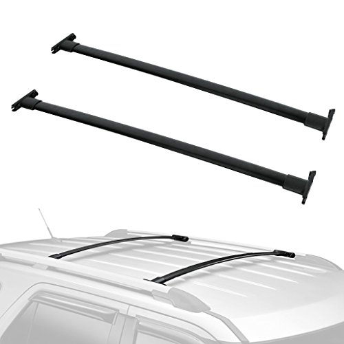 ALAVENTE Roof Rack Cross Bars Crossbars System for Ford Explorer 2011 2012 2013 2014 2015 w/Integrated roof Rails (Pair)