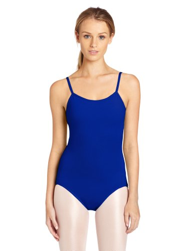 Royal Blue Leotard (Capezio Women's Camisole Leotard With Adjustable Straps,Royal,Medium)