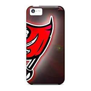 Awesome Tampa Bay Buccaneers Flip Case With Fashion Design For Iphone 5c