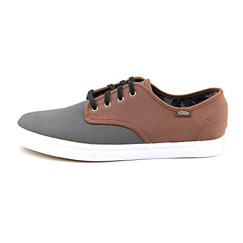 4d1b97b783 on sale Vans Madero C L Magnet Leather Sneakers Mens (7.5 Mens 9 Womens