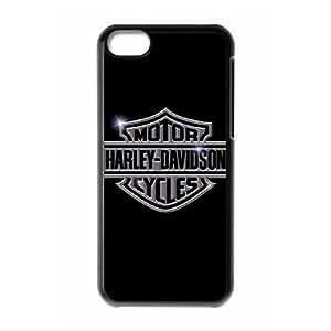 iPhone 5c Cell Phone Case Black Harley Davidson ynbm