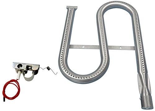Music City Metals 13011 Stainless Steel Burner Replacement for Select Ducane Gas Grill Models