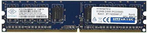 Hypertec HYMIN47512 RAM Module - 512 MB (1 x 512 MB) - DDR2 SDRAM - 66