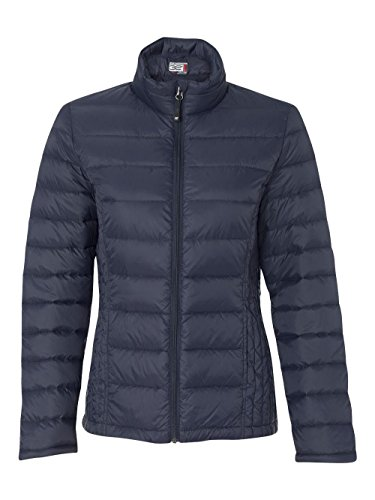 Weatherproof 32 Degrees Women's Packable Down Jacket, Classic Navy, XL