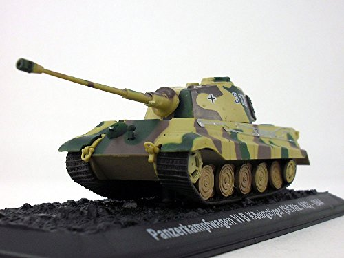 Bengal/King Tiger Tank - Panzerkampfwagen 1/72 Scale Diecast Model ()