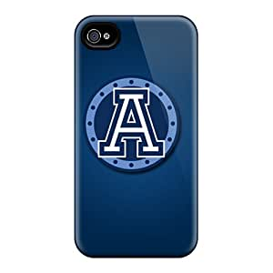 Tpu Fashionable Design Toronto Argonauts Rugged Case Cover For Iphone 4/4s New