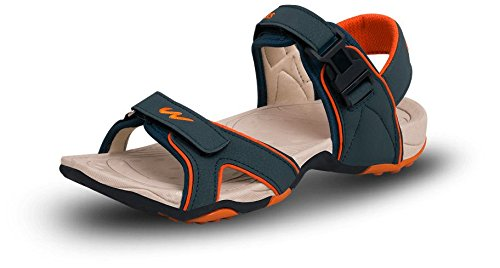 bde608f2bd6 Campus Men s Synthetic Sandals (2K-214BTGRN-ORG- P) - (10 UK)  Buy ...