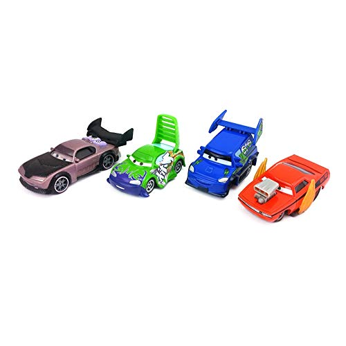 Diecasts & Toy Vehicles - Disney Pixar Cars Snot Rod & DJ & Boost & Wingo Metal Diecast Toy Car 1:55 Loose in Stock & - by HUKAZ - 1 PCs