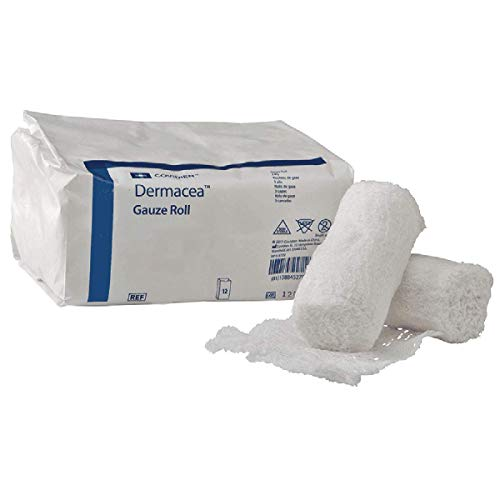 Dermacea - Conforming Bandage Dermacea - Cotton / Polyester 3 Inch X 4 Yard Roll Sterile - 96/Case - McK