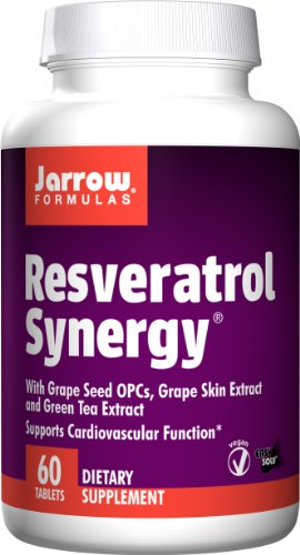 Jarrow Formulas Resveratrol Synergy Tablets