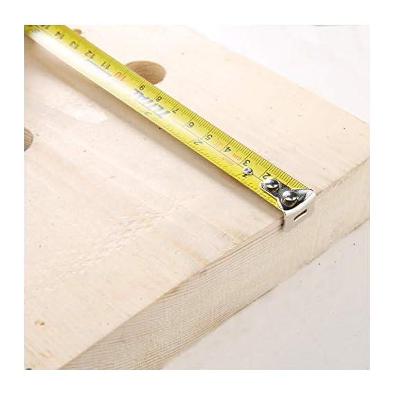 MR LIGHT TOTAL Iron Steel Measuring Tape, 3 m x 16 mm, Multicolour 6