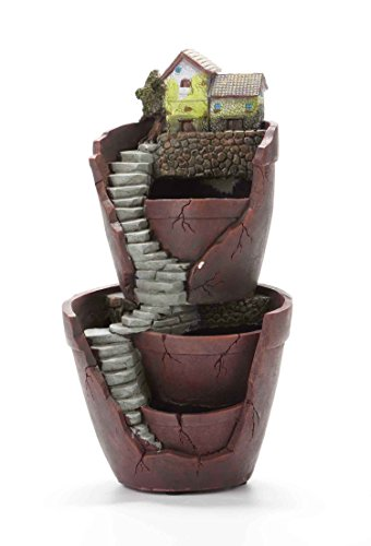 Vencer Creative Plants Pot - Flowerpot Combination Resin Succulent Plant Pot (City of (Flowers Container Gardens)