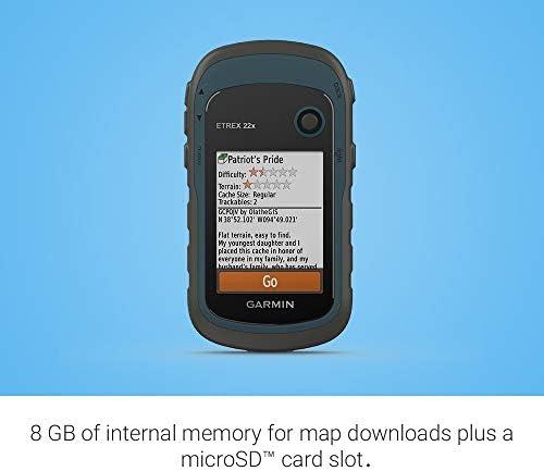 Garmin eTrex 22x, Rugged Handheld GPS Navigator