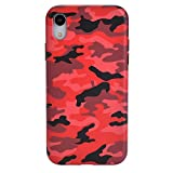 Velvet Caviar Red Camo iPhone XR Case - Premium Protective Cover - Cool Phone Cases for Girls & Men [Drop Test Certified]