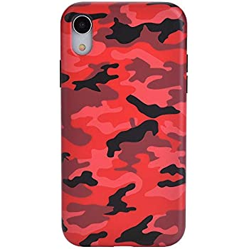 Amazon.com: Velvet Caviar Red Camo iPhone XR Case