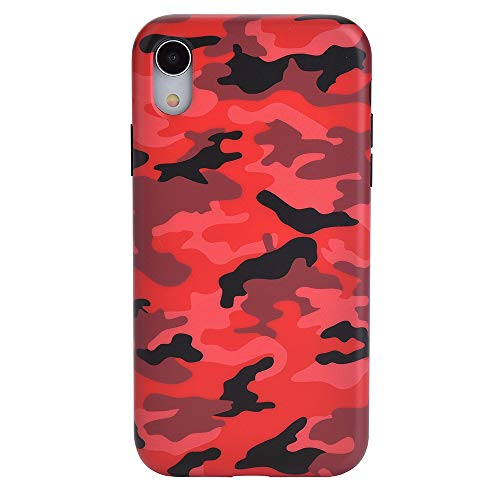 Red Camo iPhone XR Case - Premium Protective Cover - Cool Phone Cases for Girls & Men [Drop Test Certified]
