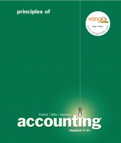 Principles of Accounting, 11-21