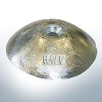 Anode disque de zinc Ø75mm x H:16,5mm avec trou de passage pour filetage M8 pour eau salée et eau saumâtre. Convenant au article 9806.