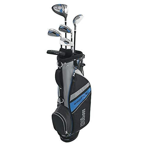 Wilson Unisex Profile Kid's Golf Set Large Left Hand, Blue (Ages 11-14)