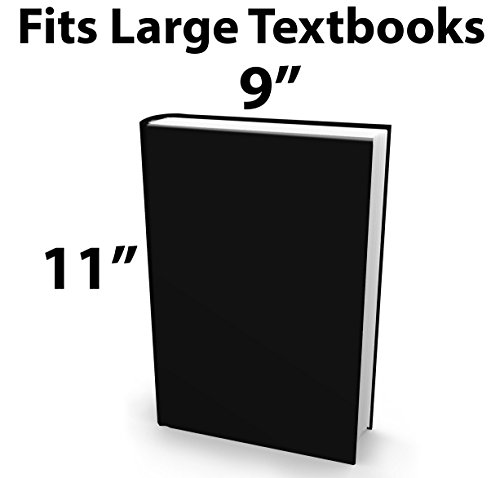 Book Sox Stretchable Book Cover: Jumbo Purple Lightning. Fits Most Hardcover Textbooks up to 9 x 11. Adhesive-Free, Nylon Fabric School Book Protector. Easy to Put On. Washable & Reusable Jacket. Photo #3