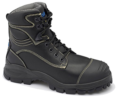 Blundstone Mens Xfoot Rubber Range Ankle Boot Black Leather tpEPLwXp9w
