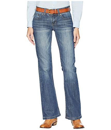 Stetson Ladies Box Stitch Jeans 4 Long