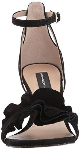 nubuck Women's Dress Madden Sandal STEVEN by Steve Vexen Black XqHvn8tw