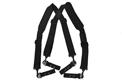 MeloTough suspenders,Duty Belt Suspenders with Padded Adjustable tool belt Suspenders by Melo Touch