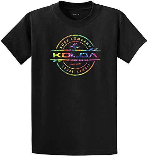 Koloa Surf Custom Graphic Heavyweight Cotton T-Shirts in Regular, Big and Tall