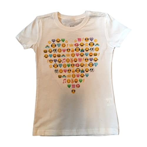 emoji Girls' Sparkle Twirl Rainbow Graphic T-Shirt hot sale