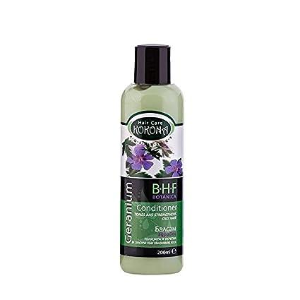 BHF Acondicionador con Extracto de Geranio para Cabello Graso 200 ml Sin Parabenos