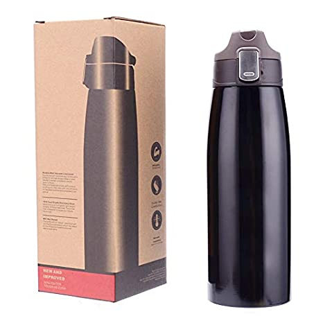 58a45bfaa02 Amazon.com: HONGQIS Stainless Steel Insulated Kettle 750ml Thermal ...