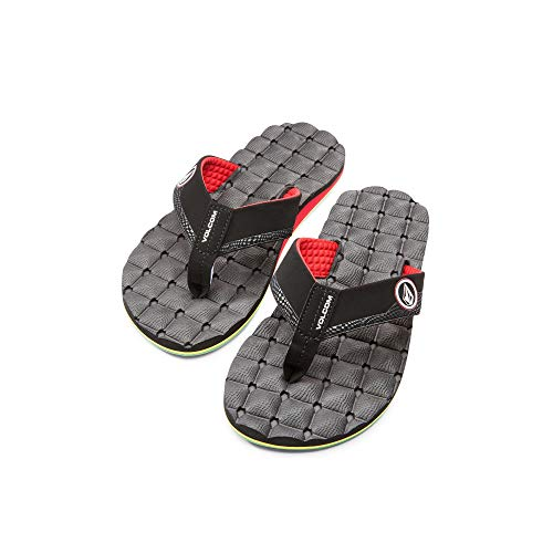Volcom Men's Recliner Flip Flop, Jah, 7 M US by Volcom