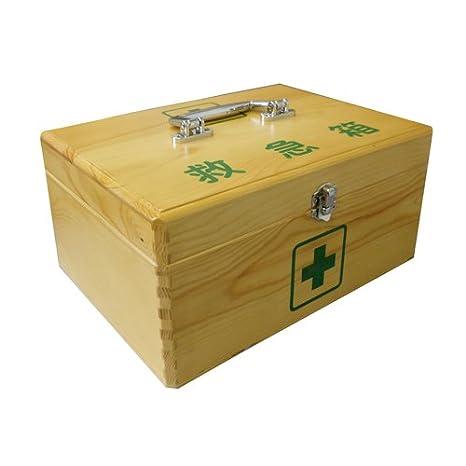 リーダー木製救急箱 Mサイズ