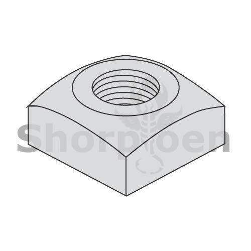 SHORPIOEN Regular Square Nut Hot Dipped Galvanized 1/2-13 BC-50NQRG (Box of 300) by Shorpioen