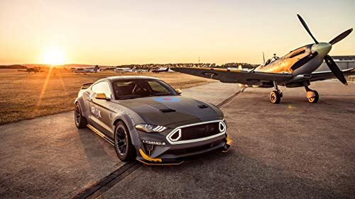 Ford Eagle Squadron Mustang GT Car Poster Print #3 (24x36 Inches)